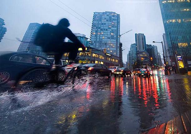rain cycling